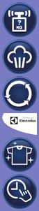 electrolux buttons