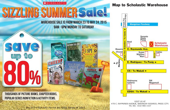 scholastic sizzling summer sale