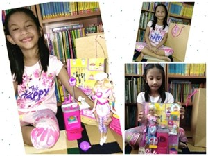 Barbie playset surprise